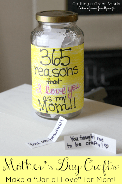jar of love for mom