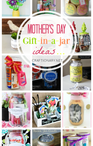 Mother's Day Gifts In A Jar