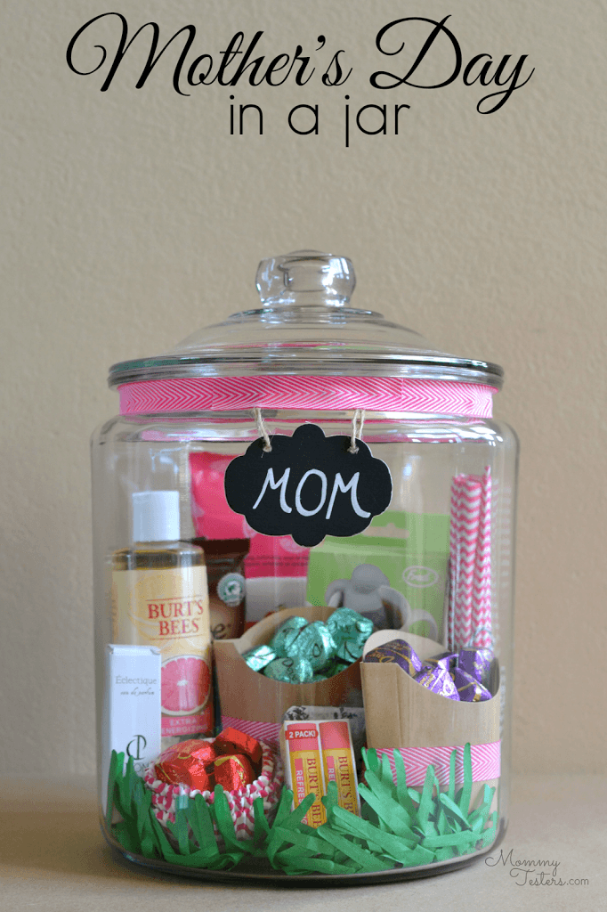mother's day in a jar