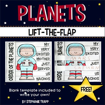 acronym for planets in order - photo #28