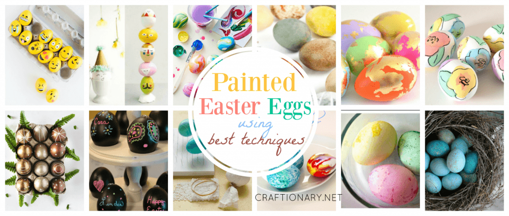 Painted Easter Eggs at craftionary.net