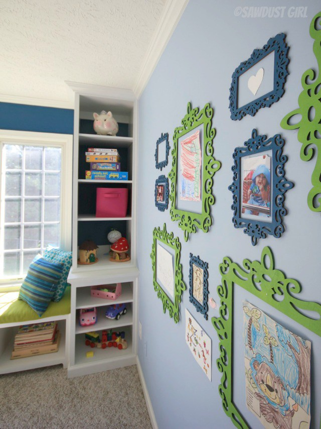 kids playroom wall art ideas & Craftionary