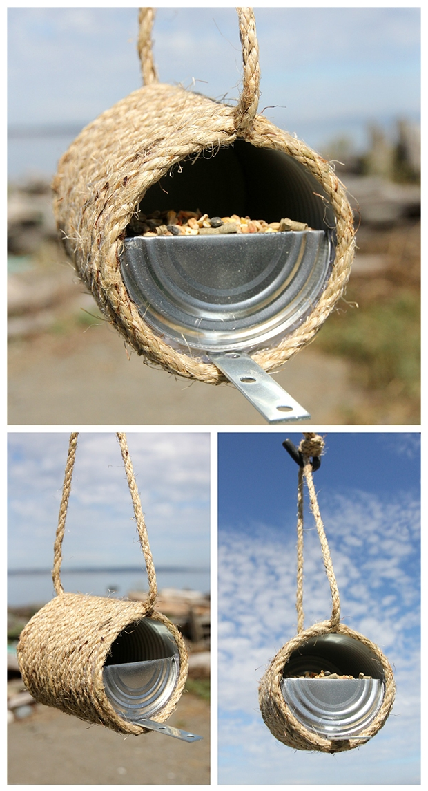 rope bird feeder