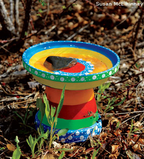 splashy bird bath tutorial
