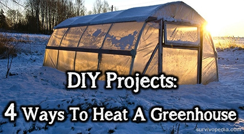 4 ways to heat a greenhouse