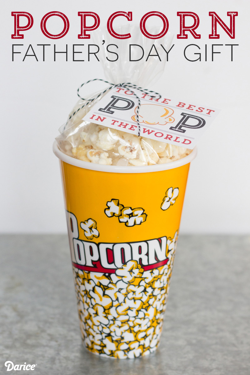 pop-corn gift idea fathers day
