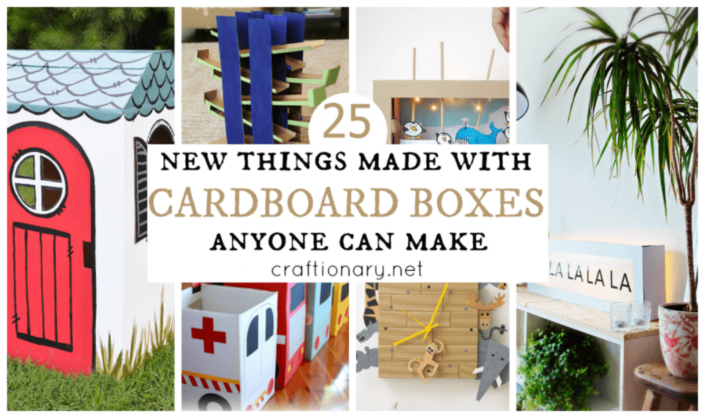 DIY cardboard box projects
