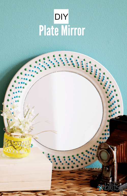 DIY-plate-mirror