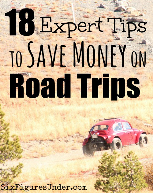 18 expert tips to save money on road trips