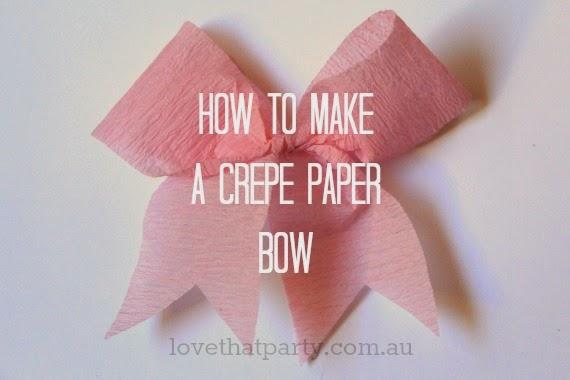 make paper bows