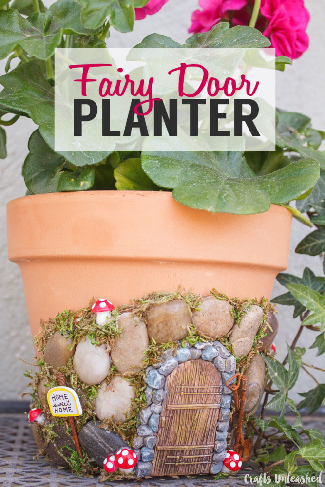 fairy planter garden making