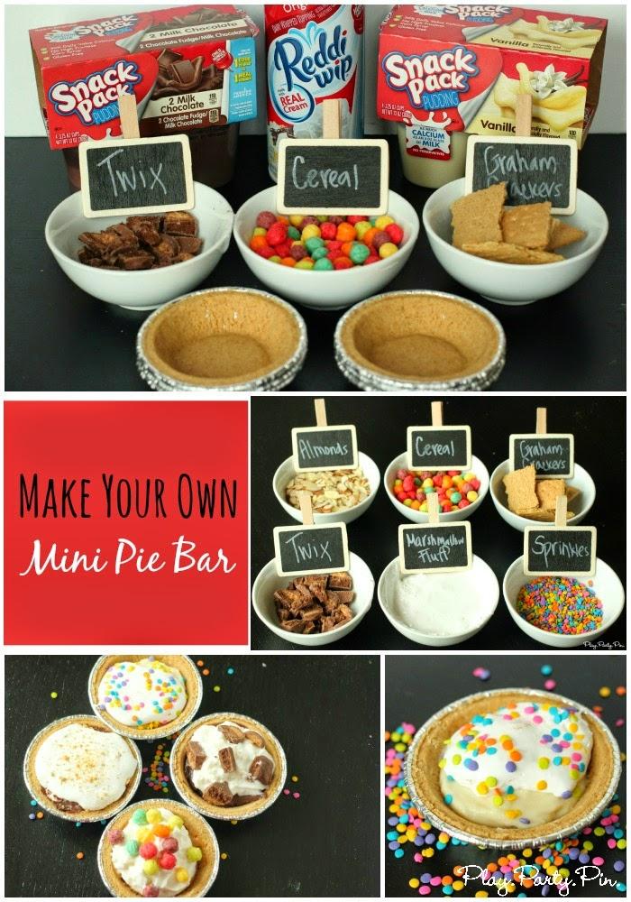 Make Your Own Mini Pie Bar