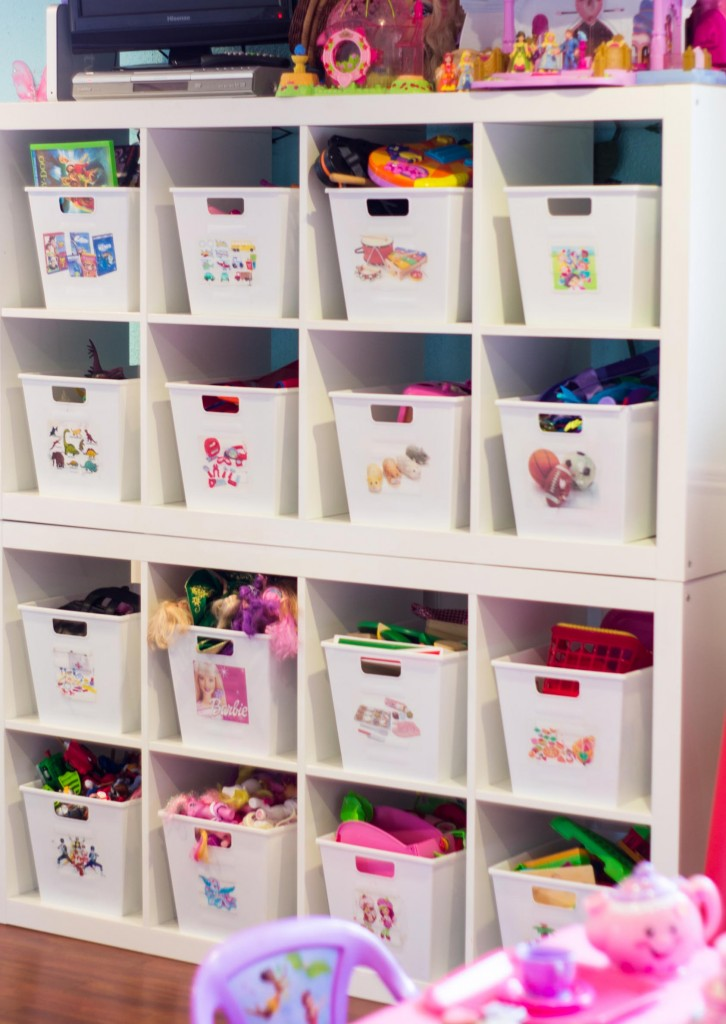 kids room organizing