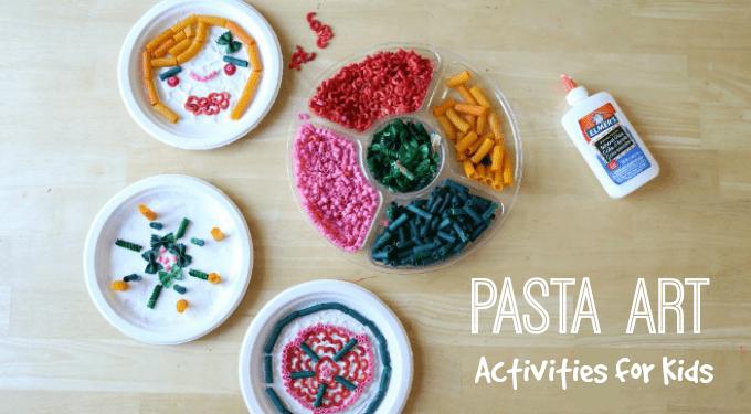 pasta crafts kids activities