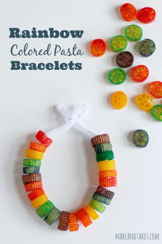 pasta creative crafts