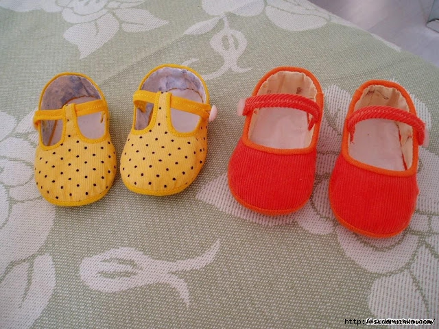 cute baby shoes making