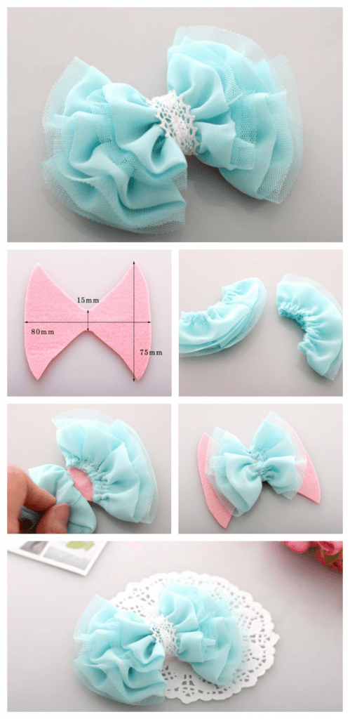 Best DIY tulle bow