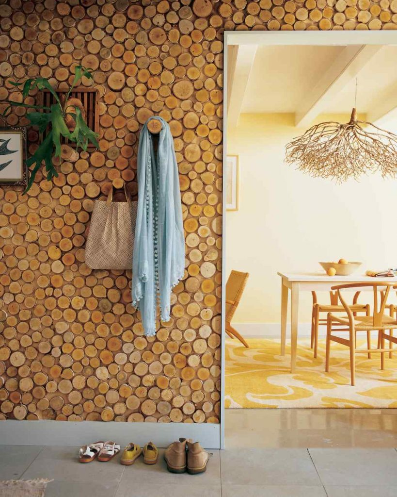 birch wall panel