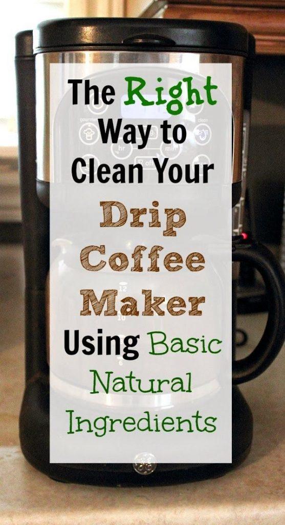 clean coffee maker