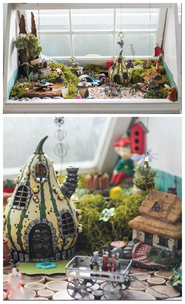 Constructing an epic indoor fairy garden