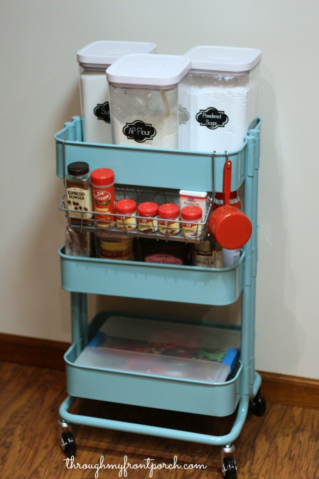 creating a baking cart