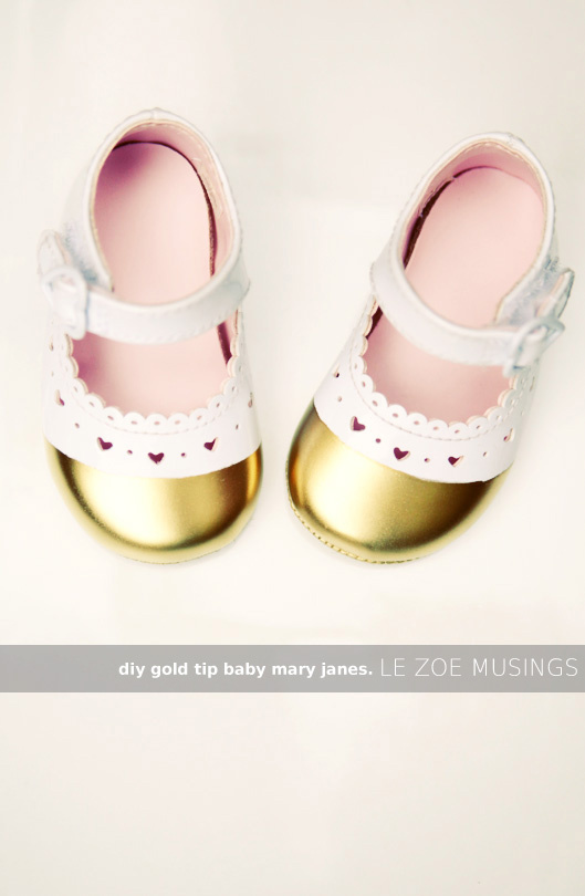 DIY Mary Jane inspired baby shoes