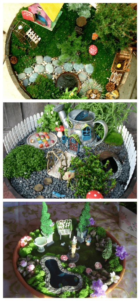 DIY indoor fairy gardens
