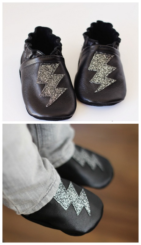 DIY leather superhero shoes