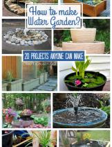 DIY water gardens