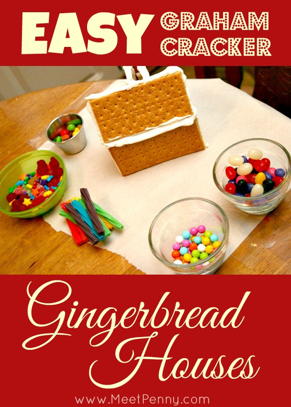 easy graham cracker gingerbread house