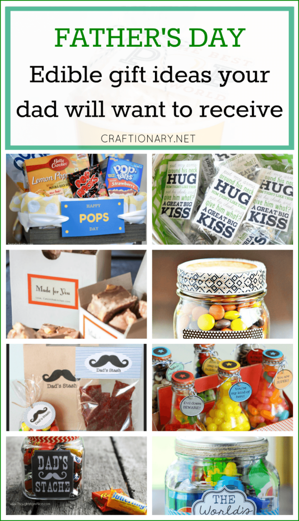 Edible gift ideas for Father's day that your dad will want to receive