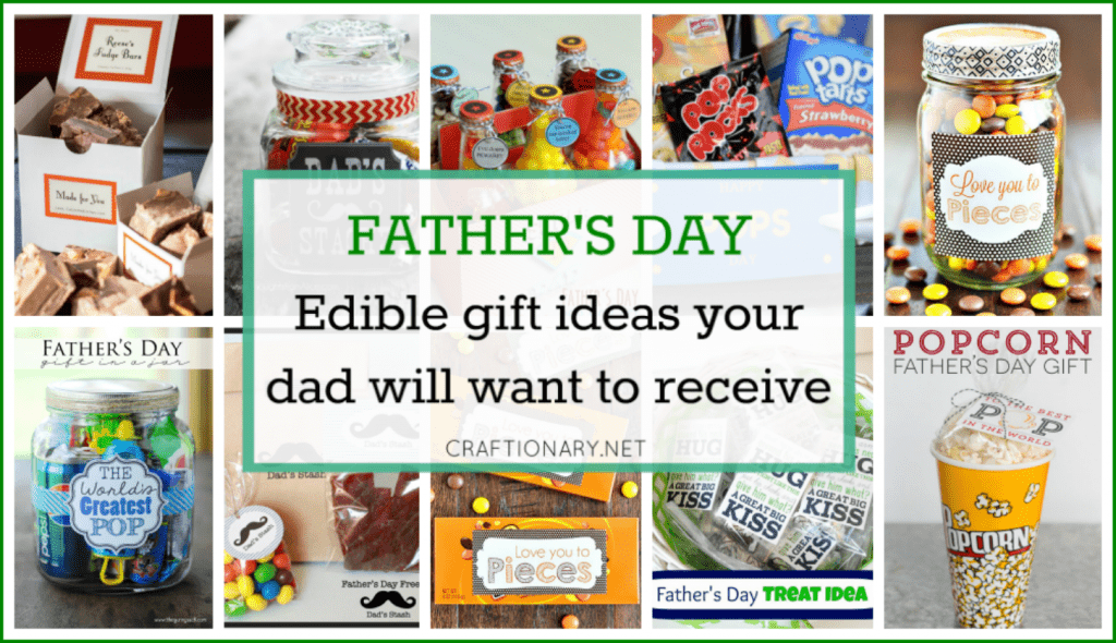 Edible gift ideas for Father's day