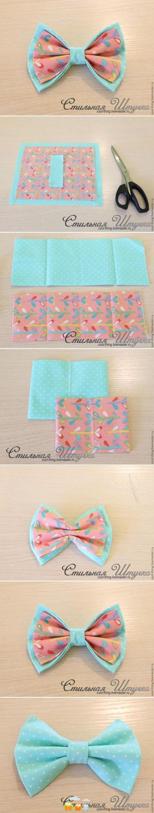 fabric bow ideas