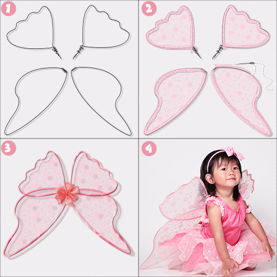 tulle fairy wings