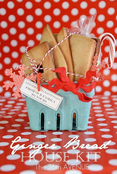 ginger bread house making kit