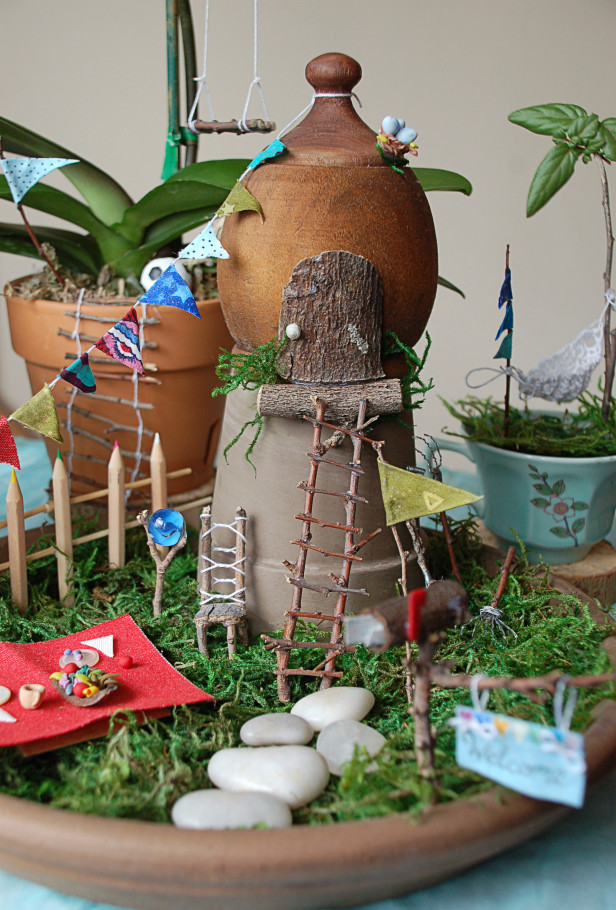 Craftionary for How to make an indoor garden