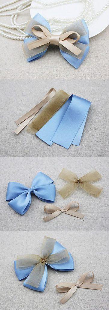 ribbon bows making