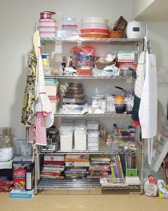 how to build baking pantry
