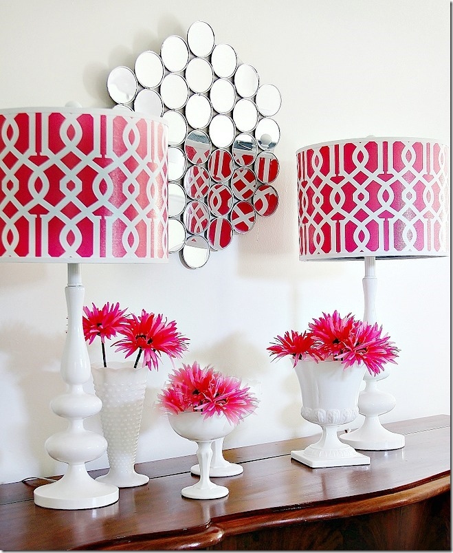 how to make mirror wall art