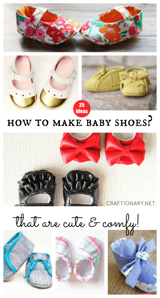 How to make baby shoes that are cute and comfy