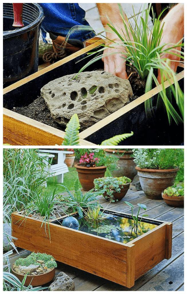 How to make a water garden - tutorial