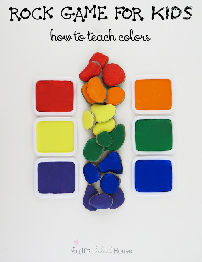 how to teach colors