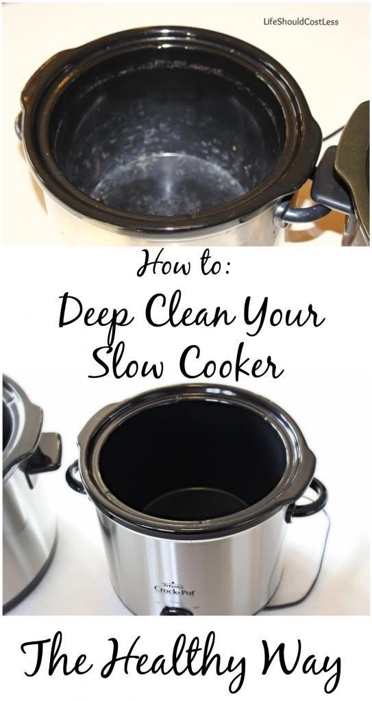 slowcooker cleaning hacks