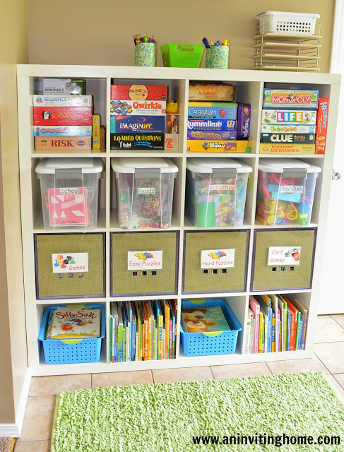 storage and organizing solutions