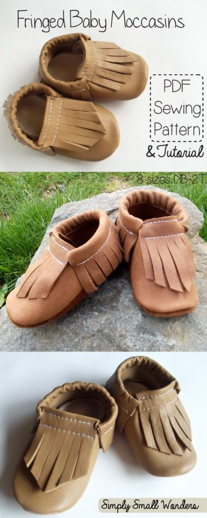 Make baby moccasins