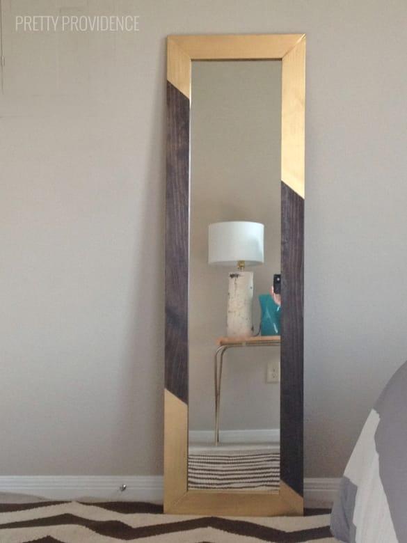 mirror DIY idea
