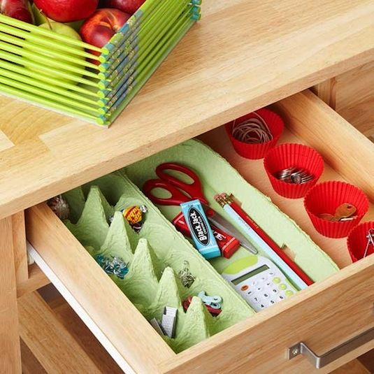 egg carton drawer devider