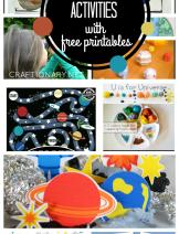 Solar System Activities at craftionary.net