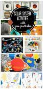 Solar System Activities at craftionary.net