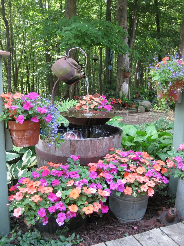 Craftionary for Backyard pond fountains